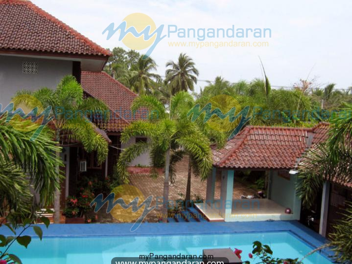 Swimming Pool Area Pondok Indah Beach Pangandaran